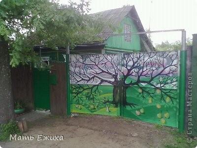 роспись ворот Страна Мастеров