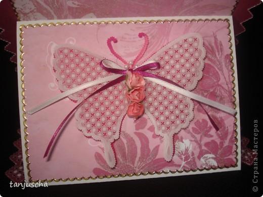 Эту открытку делала специально для своей мамы. У неё скоро День рождние. Хотелось в этой открытки показать чего я достигла в технике пергамано. Надеюсь моей маме понравится. фото 4