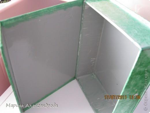 Шкатулочку смастерили с сыном из коробочки(маски китайские)... фото 2