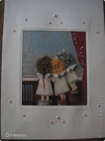 У Олюшки через неделю день рождение, а подарки уже начали идти. Так приятно, когда этот праздник может радовать не один день... Вот такое письмо ОГРОМНОЕ и КРАСИВЕЙШИЙ конверт пришёл к нам от Танечки Власовой из Печоры. фото 7