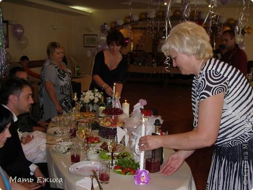 это общий вид стола жениха и невесты фото 2