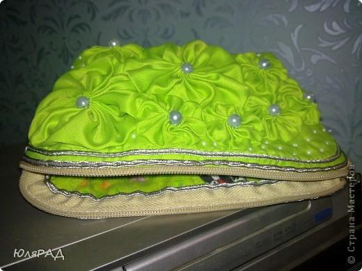 Решила после сумки, косметичку смастерить.........и увлеклась)))) МК здесь http://www.dublirin.com.ua/we_sew_cosmetikbag.html фото 3