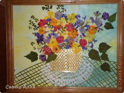 Июнь. Прессованные цветы или Осибана фото 1