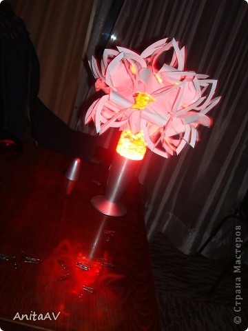 "Меня вдохновила работа ""бумажный шар""  лика2010. Спасибо Вам за МК http://stranamasterov.ru/node/66036. фото 2"