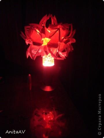 "Меня вдохновила работа ""бумажный шар""  лика2010. Спасибо Вам за МК https://stranamasterov.ru/node/66036. фото 1"