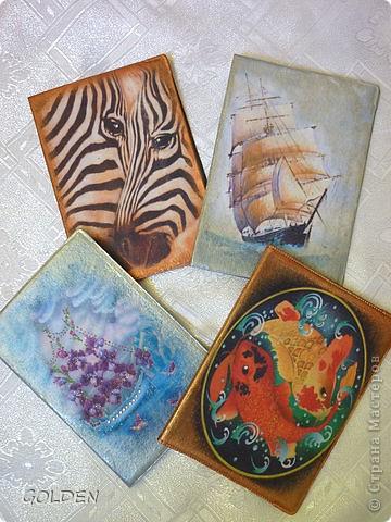 Обложки дл паспортов. фото 1