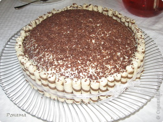 Всем привет! Сегодня, в свой день рождения, угощала гостей таким тортиком :) фото 1