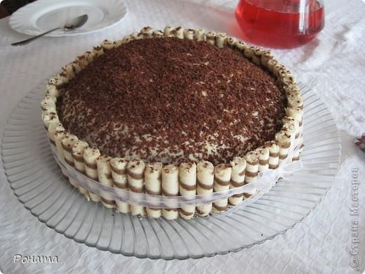 Всем привет! Сегодня, в свой день рождения, угощала гостей таким тортиком :) фото 2