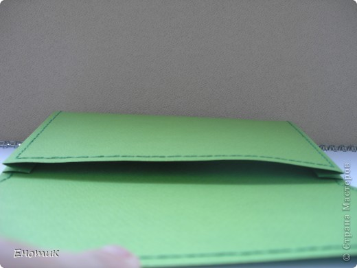 """Здравствуйте! И снова немного """"кожгалантереи"""". На сей раз--конверт-клатч. Мама попросила сделать конверт для подруги. фото 9"""