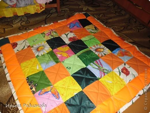 лоскутное одеяло или развивающий коврик фото 1