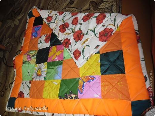 лоскутное одеяло или развивающий коврик фото 2