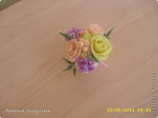 """Решилась выложить свои цветы из """"Холодного фарфора"""". фото 3"""
