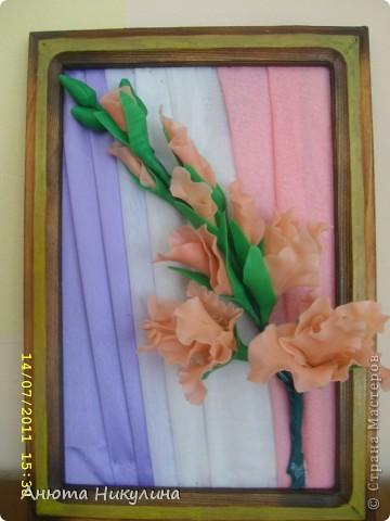 """Решилась выложить свои цветы из """"Холодного фарфора"""". фото 2"""