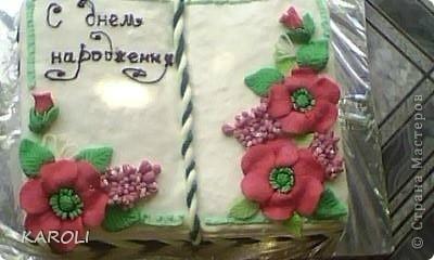 тортик книжка  фото 1