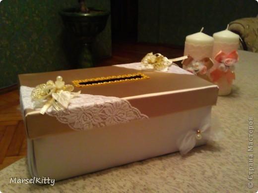 Коробка для денег и свечи (домашний очаг) фото 1
