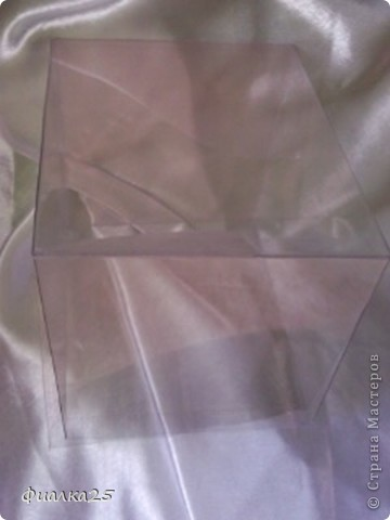 Коробочка прозрачная  фото 1