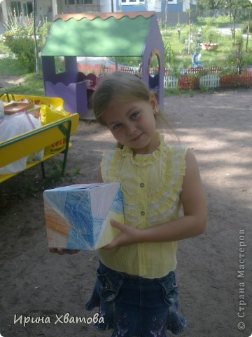 Кристина 7 лет....моя ученица по оригами фото 1