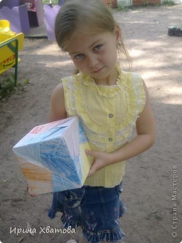 Кристина 7 лет....моя ученица по оригами фото 2