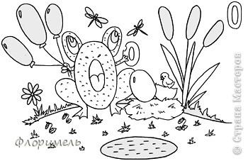 Раннее развитие Рисование и живопись Поиск букв А и О обучающие картинки для дошколят  Бумага фото 9