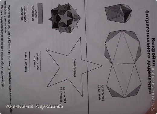 Битригональный додекаэдр фото 4