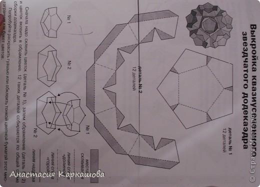 Битригональный додекаэдр фото 6