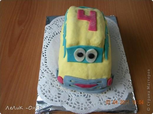 Этот Автомобильчик отправился поздравлять С днем рождения  мальчика Диму.  фото 1