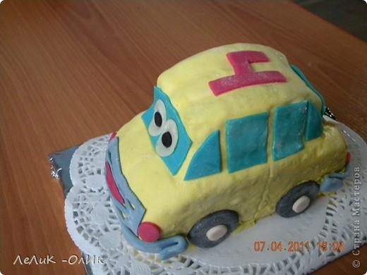 Этот Автомобильчик отправился поздравлять С днем рождения  мальчика Диму.  фото 2