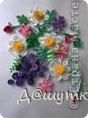Коллаж из искусственных цветов фото 7