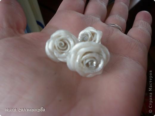 Моя приятельница заказала такое кольцо и сережки.Конечно выглядят на фото просто, но приятельнице понравился этот набор, а ее подруга заказала розовый. фото 2