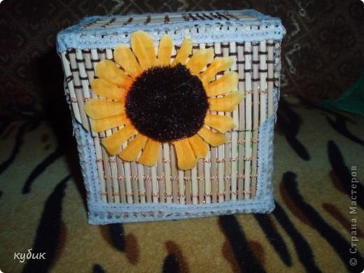 вот такую коробочку я смастерила для чайных пакетиков, спасибо огромное нашим мастерицам за идею!!!!!!!!!!!! фото 1