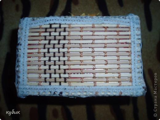 вот такую коробочку я смастерила для чайных пакетиков, спасибо огромное нашим мастерицам за идею!!!!!!!!!!!! фото 3