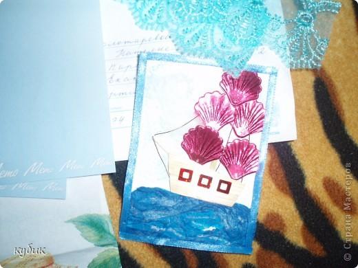 вот такую коробочку я смастерила для чайных пакетиков, спасибо огромное нашим мастерицам за идею!!!!!!!!!!!! фото 5