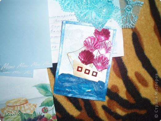 вот такую коробочку я смастерила для чайных пакетиков, спасибо огромное нашим мастерицам за идею!!!!!!!!!!!! фото 6