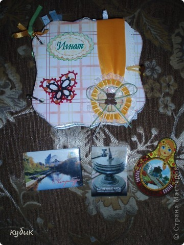 вот такую коробочку я смастерила для чайных пакетиков, спасибо огромное нашим мастерицам за идею!!!!!!!!!!!! фото 8
