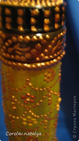 Обожаю подсолнухи, а увидев эту бутылку, почему-то решила сделать свой подсолнух. фото 10