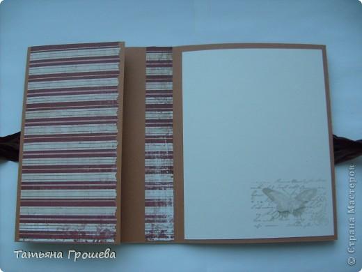 Этот мини - альбом для фотографий я сделала на мастер - классе по скрапбукингу у Тамары Александровны (ее работы здесь http://stranamasterov.ru/user/100407). фото 2