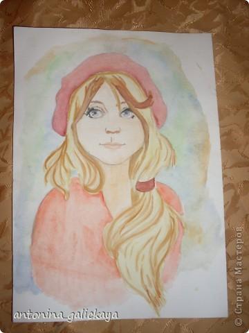 вот такой рисунок я рисовала ко дню святого Валентина  фото 2