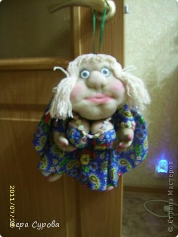 Клава - моя первая кукла-попик фото 1