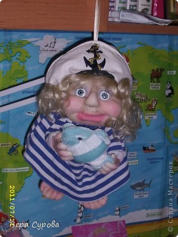 Клава - моя первая кукла-попик фото 2