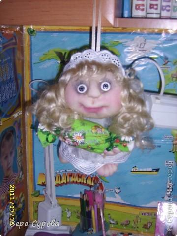 Клава - моя первая кукла-попик фото 3