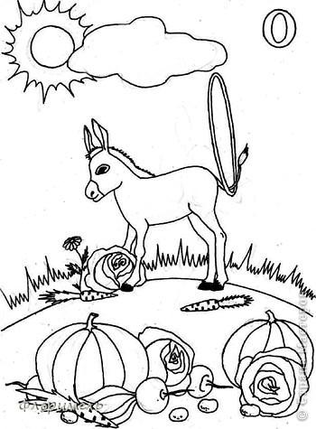 Раннее развитие Рисование и живопись Поиск букв А и О обучающие картинки для дошколят  Бумага фото 10