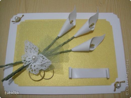 Пригласительная открытка на свадьбу фото 2