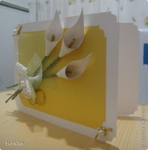 Пригласительная открытка на свадьбу фото 3