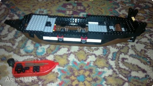 Вот такой корабль собрал сын Ваня. фото 2