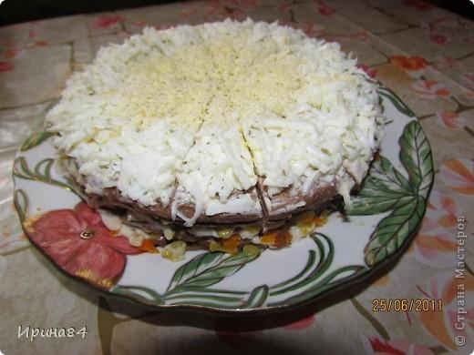 Печеночный тортик фото 1