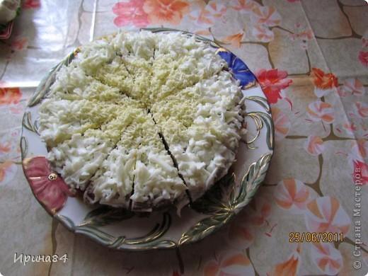 Печеночный тортик фото 2