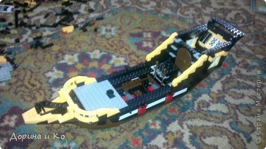 Вот такой корабль собрал сын Ваня. фото 3