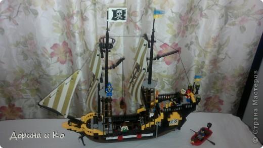 Вот такой корабль собрал сын Ваня. фото 1