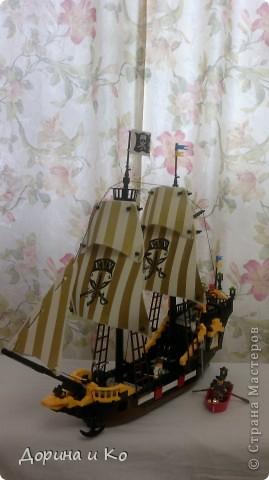 Вот такой корабль собрал сын Ваня. фото 4