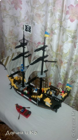 Вот такой корабль собрал сын Ваня. фото 5